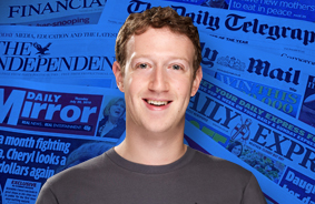 '페이스북=언론' 인정한 저커버그, '진짜뉴스' 만들어내나