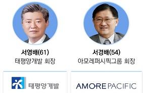 '서경배 7조 vs 서영배 900억' 형제 富가른 순간