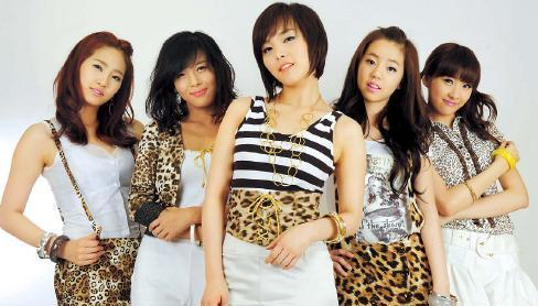 Original members of Wonder Girls (Kim Myung-sub/The Korea Herald)