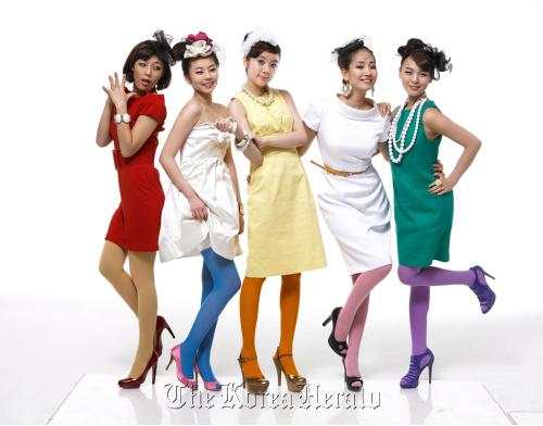 Wonder Girls with new member Hye-lim (JYP Entertainment)