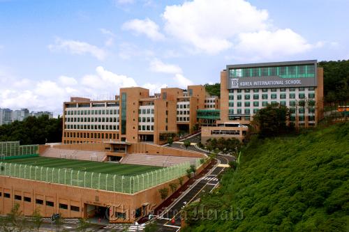 The Korea International School in Pangyo south of Seoul. Korea International School