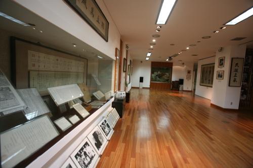 Inside Woodang Memorial