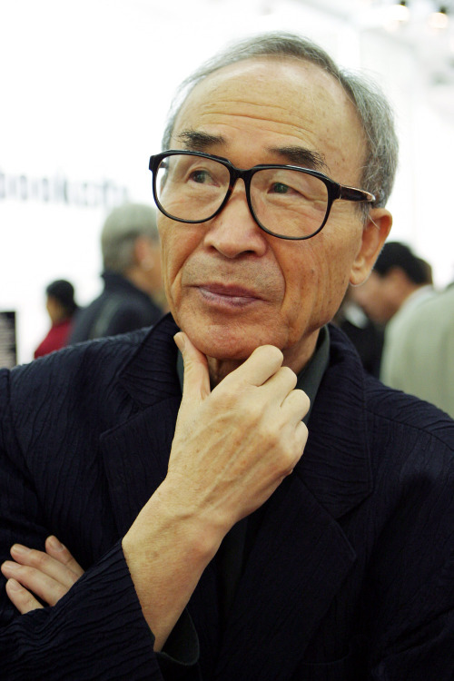 Poet Ko Un (Yang Sung-jin/The Korea Herald)