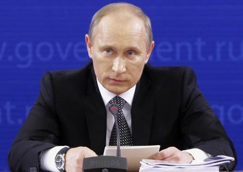 Russian Prime Minister Vladimir Putin (AP-Yonhap News)