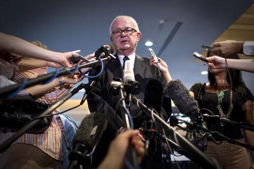 U.S. special envoy to North Korea Stephen Bosworth (AP-Yonhap News)