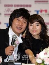 ( Lee Su-geun and his wife)