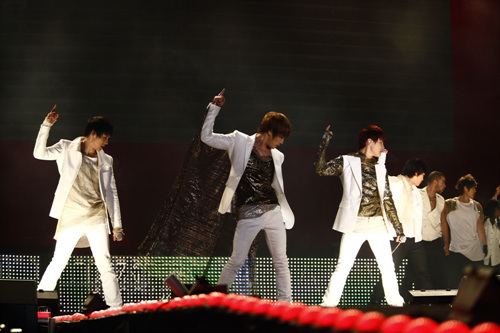 JYJ is one of the popular boy bands in Korea.