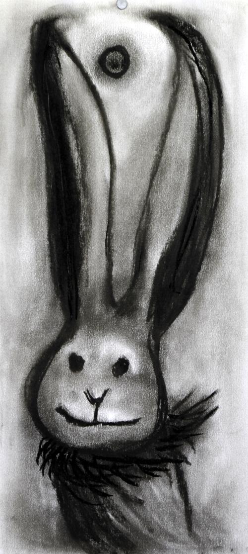 """Rabbit"" by Kim Eun-joo (Lotte Gallery)"