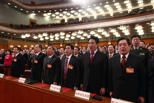 China's National Legislature opens its annual session on March 5