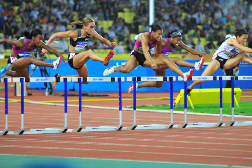 The World Athletics Championships will take place in Daegu from Aug. 27-Sept. 4.
