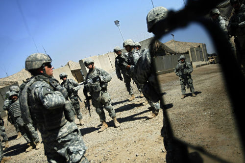 The U.S. is scheduled to pull all of its troops out of Iraq by Dec. 31.