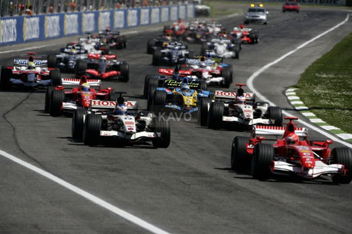 The Korean Grand Prix will take place Oct. 14-16.