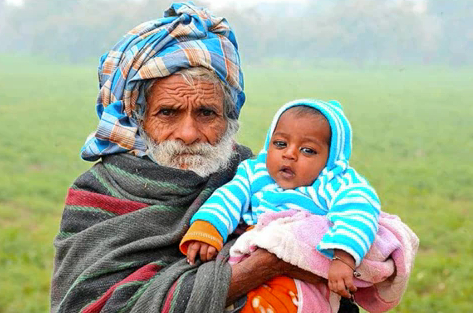 (Ramajit Reghave claims to be the oldest dad at age 94, captured from YouTube)