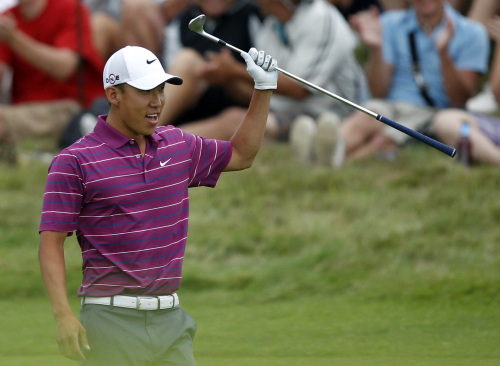 Anthony Kim is still among the elite at No. 31 in the world. (AP-Yonhap News)