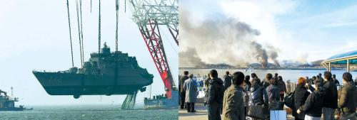 North Korea's torpedoing of the corvette Cheonan and artillery shelling of Yeonpyeong Island were the latest in a series of its provocations against South Korea since the endof the Korean War. (Korea Herald file photos)