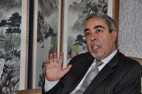Algeria Ambassador Hocine Sahraoui (Yoav Cerralbo/The Korea Herald)