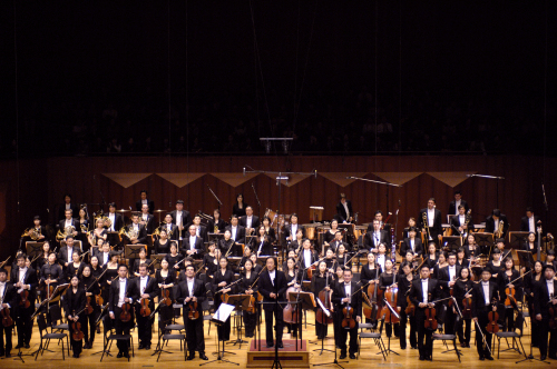 Seoul Philarmonic Orchestra with conductor Chung Myung-whun(Seoul Philarmonic Orchestra)