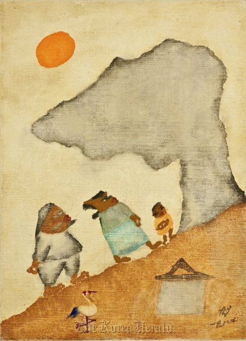 """""""A Family on the Hill"""" by Chang Ucchin (Gallery Hyundai)"""