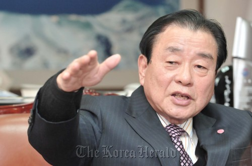 Lee Kang-too, the president of TAFISA (Chung Hee-cho/The Korea Herald)