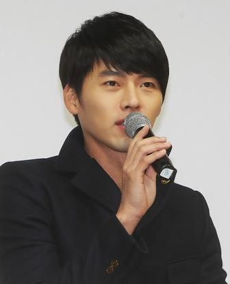 Actor Hyun Bin, who stars in the SBS weekend drama