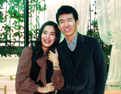 Sean and his wife Jung Hye-young