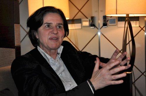 Katherine Richardson, chairperson of the Danish Commission on Climate Change(Yoav Cerralbo/The Korea Herald)