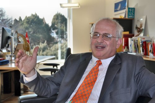 Swiss Ambassador Thomas Kupfer (Yoav Cerralbo/The Korea Herald)