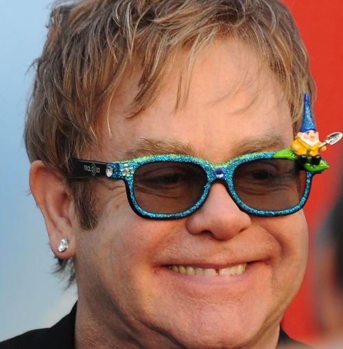 Elton John. (AFP-Yonhap News)