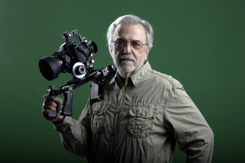 Portrait of filmmaker Bill Pryor, who is living proof that a career in film can flourish far away from the coasts. (Jim Barcus/Kansas City Star/MCT)