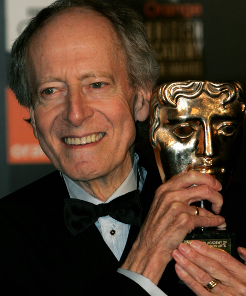 Composer John Barry at the British Academy Film Awards in London in 2005. (AP-Yonhap News)