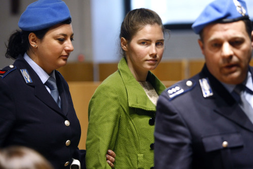Convicted murderer Amanda Knox. (AP-Yonhap News)