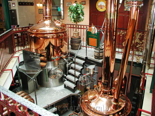 A local small-sized brewery