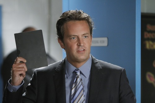 """Matthew Perry portrays Ben Donovan in a scene from """"Mr. Sunshine,"""" premiering Wednesday on ABC. (AP-Yonhap News)"""