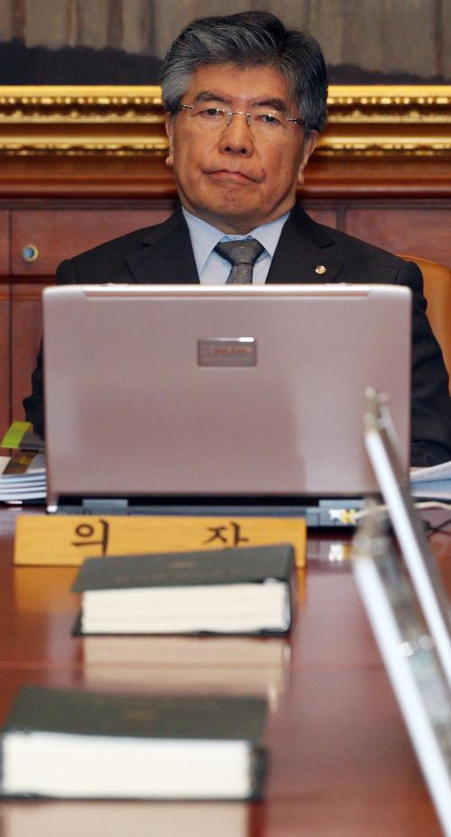 Bank of Korea Governor Kim Choong-soo
