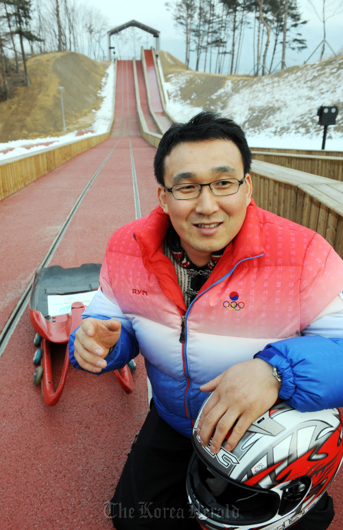 Winter sports pioneer Kang Kwang-bae (Park Hyun-koo/The Korea Herald)