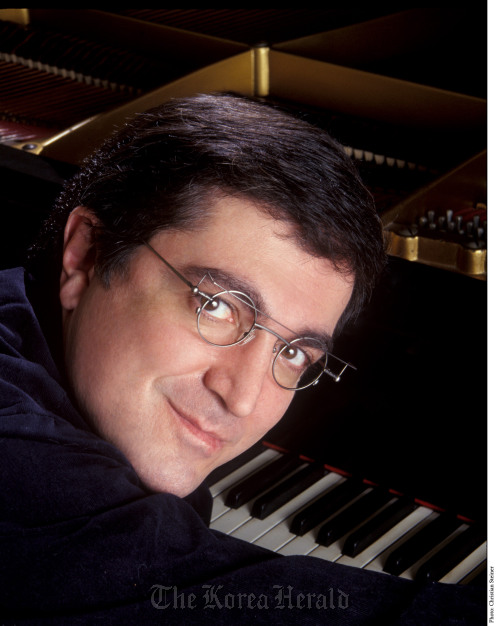 Pianist Sergei Babayan. (The Busan International Music Festival)