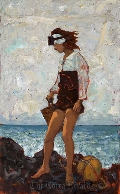 'Jeju Abalone' by Windsor Joe Innis (www.innisart.com)