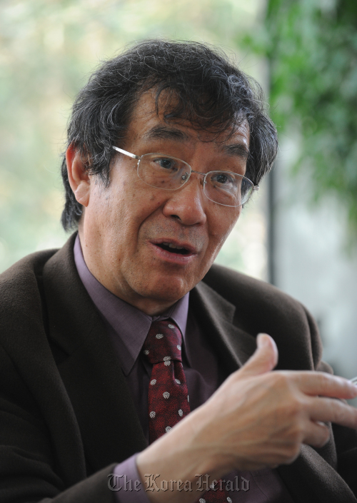Tu Weiming, director of the Institute for Advanced Humanistic Studies at Peking University. (Lee Sang-sub/The Korea Herald)