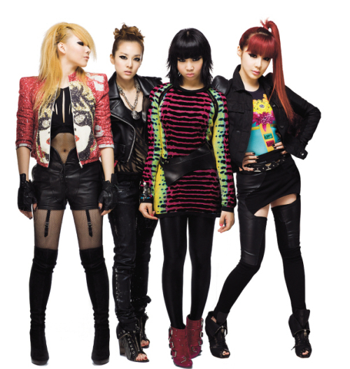 Girl group 2NE1 made waves last year when footage of them working with Black Eyed Peas' will.i.am hit national television. (YG Entertainment)