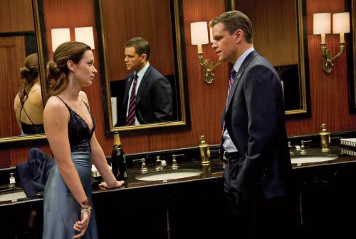 "Matt Damon and Emily Blunt star in ""The Adjustment Bureau.""(Andrew Schwartz/Universal Pictures/MCT)"
