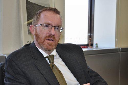 Irish Ambassador Eamonn McKee (Yoav Cerralbo/The Korea Herald)