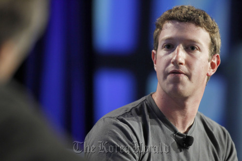 Mark Zuckerberg, chief executive officer of Facebook Inc. (Bloomberg)