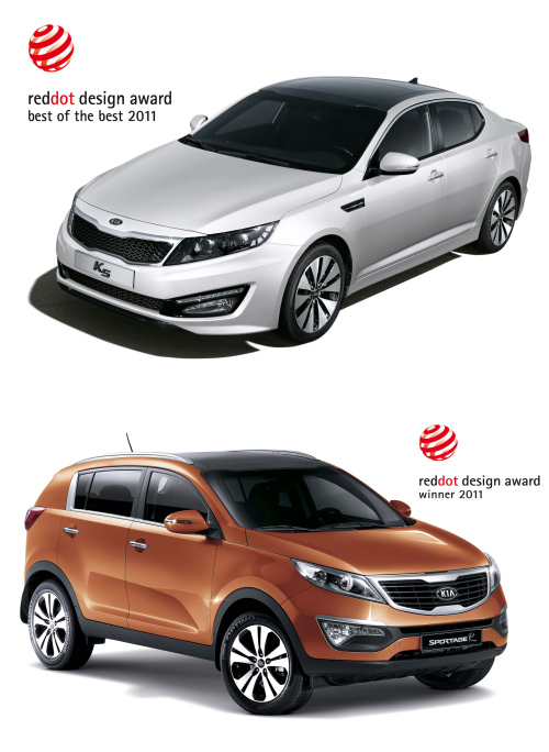 K5 (top) and Sportage R