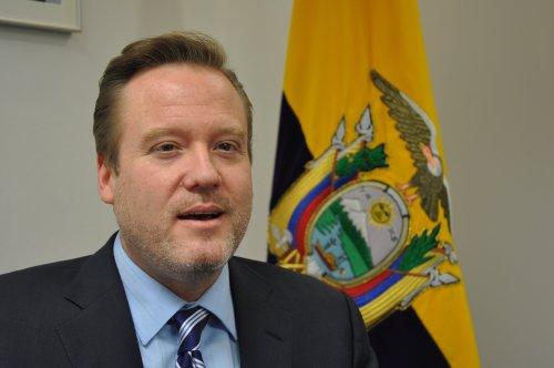 Ecuador Ambassador Nicolas Trujillo (Yoav Cerralbo/The Korea Herald)