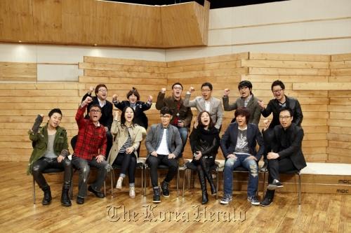 """Participants and hosts of MBC's singer survival program, """"I am a Singer."""" (MBC)"""