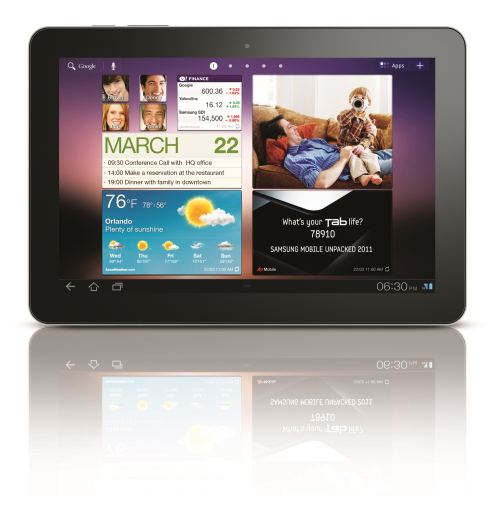Samsung's Galaxy Tab 10.1