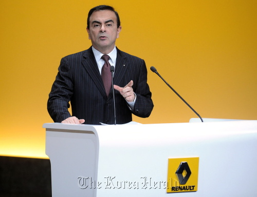 Carlos Ghosn, chief executive officer of Renault SA. (Bloomberg)