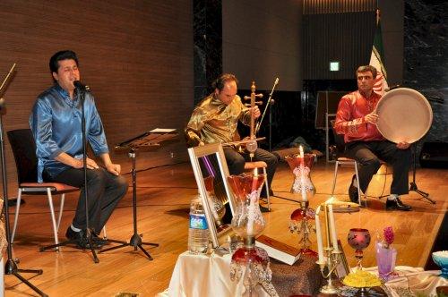 Iranian traditional musical troupe Pegah (Yoav Cerralbo/The Korea Herald)