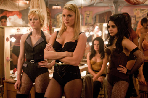 """From left: Jena Malone as Rocket, Abbie Cornish as Sweet Pea and Vanessa Hudgens as Blondie in Warner Bros. Pictures' and Legendary Pictures' """"Sucker Punch."""" (Clay Enos/Courtesy Warner Bros. Pictures/MCT)"""