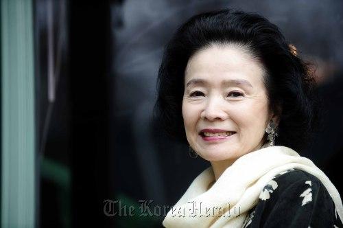 Actress Yun Jung-hee. (The Korea Herald)